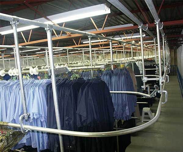 Garment Rails Srs Conveyors